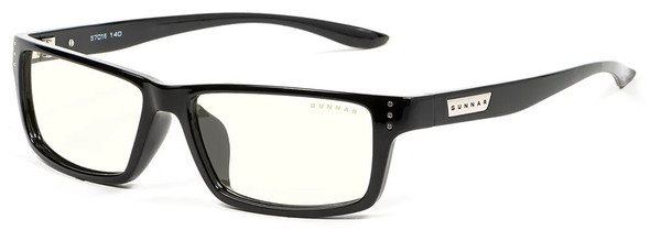 Gunnar Riot Computer Glasses with Onyx Frame and Clear Lens