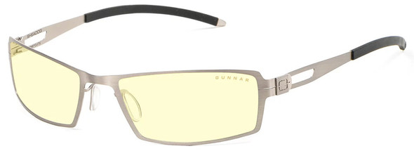 Gunnar Sheadog Computer Glasses with Mercury Frame and Amber Lens