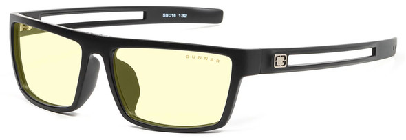 Gunnar Valve Computer Glasses with Onyx Frame and Amber Lens