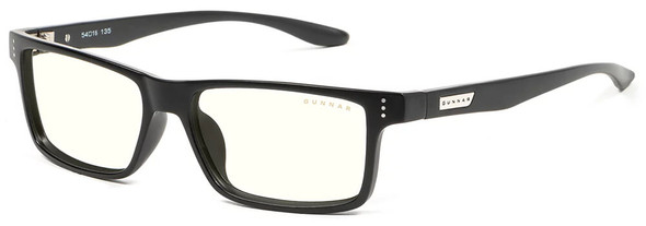 Gunnar Vertex Computer Glasses with Onyx Frame and Clear Lens