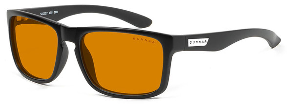 Gunnar Intercept Computer Glasses with Onyx Frame and Amber Max Lens