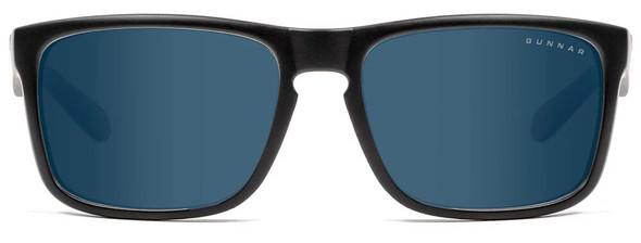 Gunnar Intercept Sunglasses with Onyx Frame and Sun Lens - Front