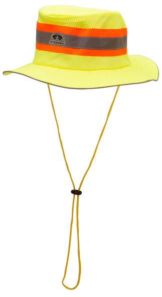 Pyramex RRH10 Cooling Ranger Hat, Hi-Vis Lime