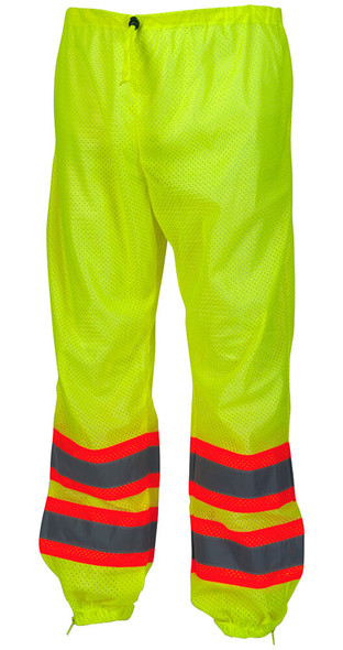 Pyramex RMP10 Series Hi-Vis Reflective Mesh Pants - Front