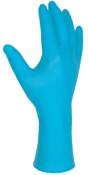 MCR Nitri-Med Disposable Gloves, Blue, Medical Grade, Powder Free, 6 Mil (Box 100) - Glove