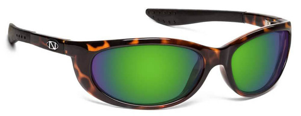 ONOS Sand Island Polarized Bifocal Sunglasses with Amber Green Mirror Lens