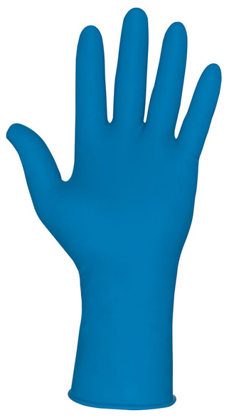 MCR MedTech Disposable Gloves, Blue Latex, Medical Grade, Powder Free, 15-Mil (Box 50) - Glove
