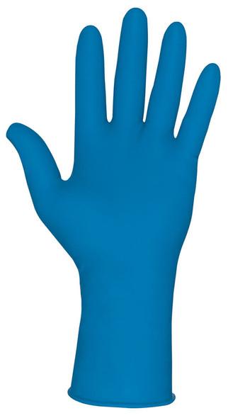 MCR MedTech Disposable Gloves, Blue Latex, Medical Grade, Powder Free, 15-Mil (Box 50) - Glove