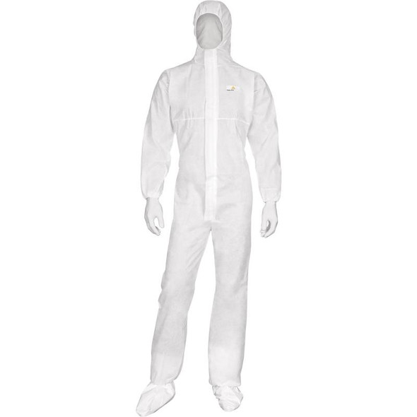 DeltaPlus Disposable Coveralls Non-Woven With Elastic Hood (Case 50)