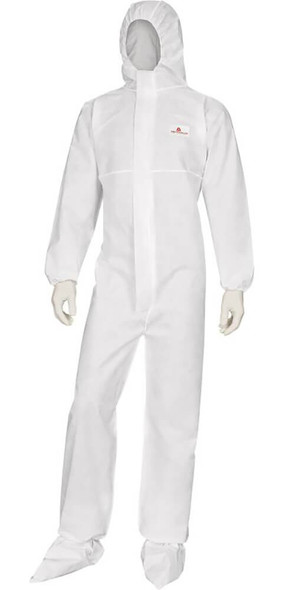 DeltaPlus Deltatek 6000 Flame Retardant Disposable Coverall With Hood (Case 20)
