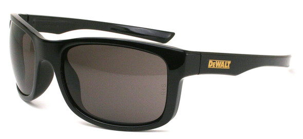 DeWalt Supervisor Safety Glasses with Black Frame and Smoke Lens