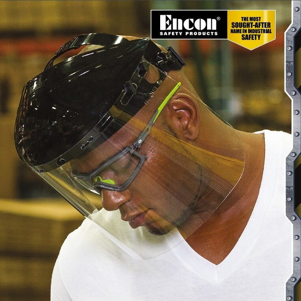 Encon Veratti Scudo Foam-Padded Safety Glasses/Goggles Worn 11SCU4014