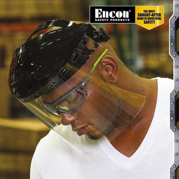 Encon Veratti Scudo Foam-Padded Safety Glasses - Worn 11SCU4014