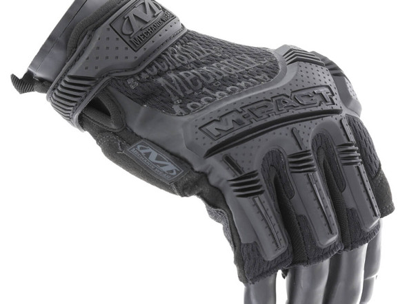 Mechanix MFL-55 M-Pact Fingerless Covert Gloves, Black 1