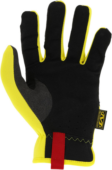 Mechanix MFF-91 FastFit Gloves, Hi-Vis Yellow 1