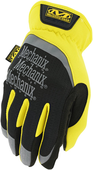 Mechanix MFF-91 FastFit Gloves, Hi-Vis Yellow