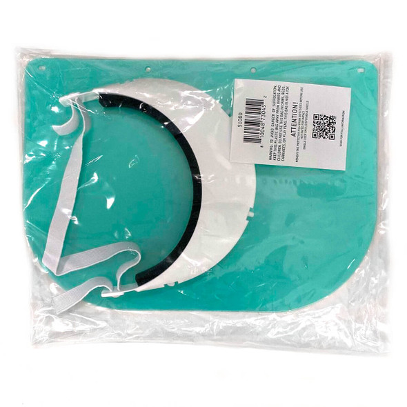 Pyramex S1000 Polycarbonate Medical Face Shield Kit - Packaging