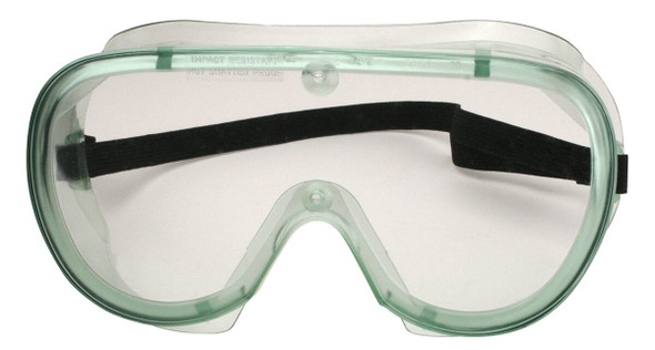 SGUSA Non-Vented Splash Goggle with Anti-Fog Lens Made in USA