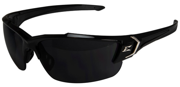 Edge Khor G2 Safety Glasses with Black Frame and Smoke Lens