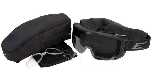 Edge Tactical Eyewear Blizzard Ballistic Goggle Kit with Clear and G-15 Vapor Shield Lenses