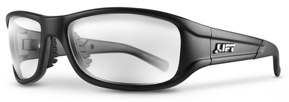Lift Safety Alias Bifocal Safety Glasses Black Frame and Clear Lens
