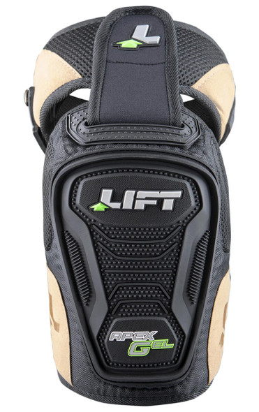 Lift Safety Apex Gel Knee Guard (1-Pair) - Front View