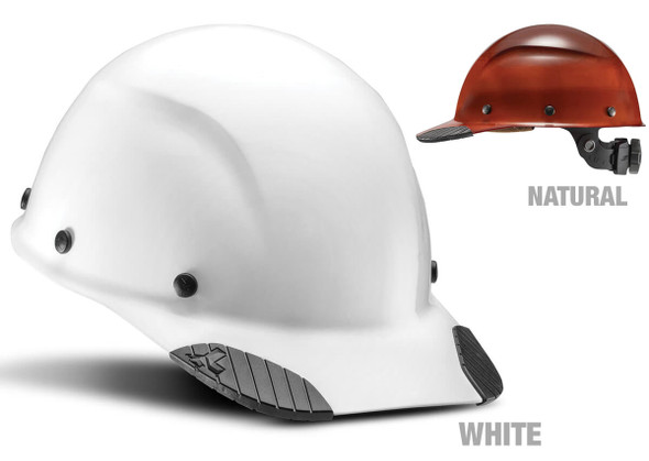 Lift Safety Dax Fiber Resin Cap Style Hard Hat with 6-Point Suspension
