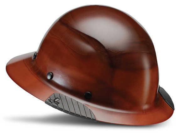 Lift Safety Dax Fiber Resin Full Brim Hard Hat with 6-Point Suspension - Natural