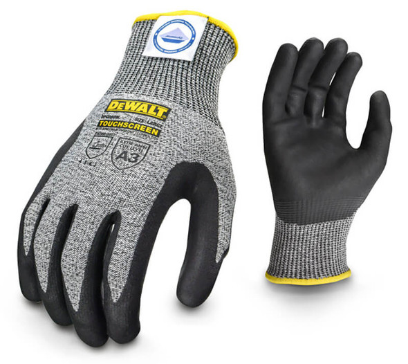 DeWalt DPGD809 CUT5 Cut Level A3 Touchscreen Work Gloves