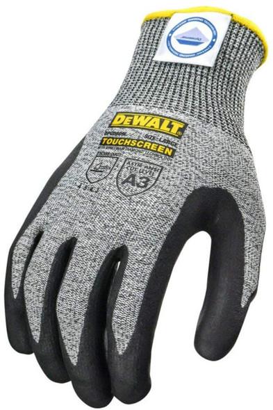 DeWalt DPGD809 CUT5 Cut Level A3 Touchscreen Work Gloves Top View
