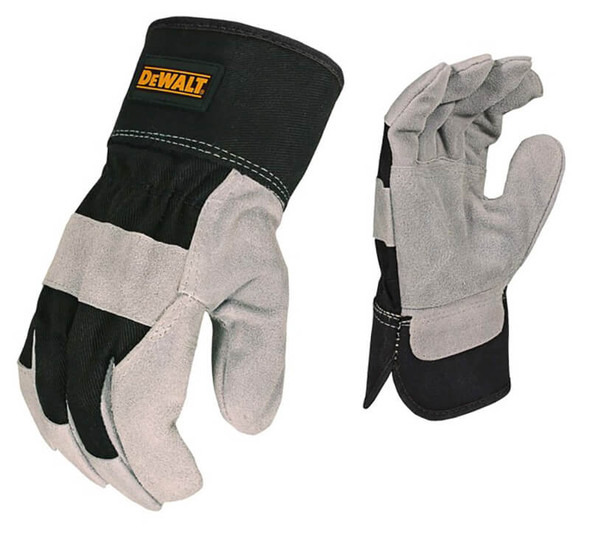 DeWalt DPG41 Premium Split Cowhide Leather Palm Gloves