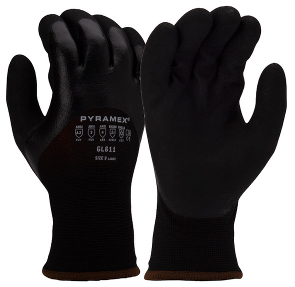Pyramex GL611 Winter Cut-Resistant Gloves