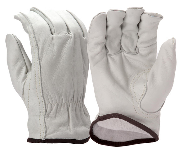 Pyramex GL2006K Winter Insulated Cowhide Leather Gloves w/ Keystone Thumb (12 Pair)