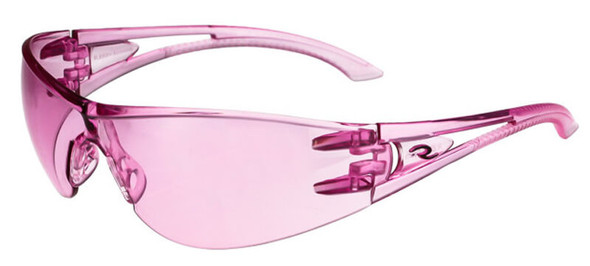 Radians Optima Safety Glasses with Pink Frame and Pink Lens