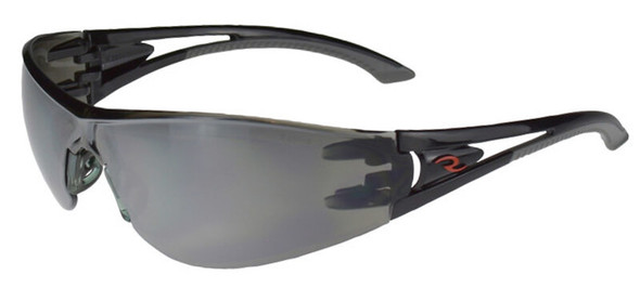 Copy of Radians Optima Safety Glasses with Black Frame and Silver Mirror Lens