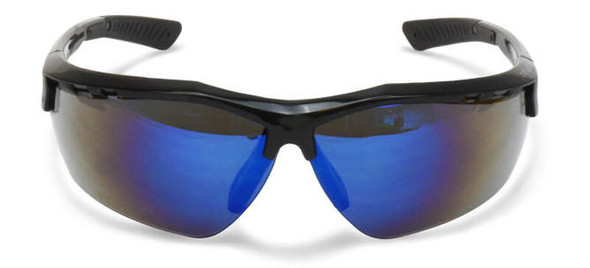 Radians Thraxus Safety Glasses with Blue Mirror Lens TXC1-70ID - Front View