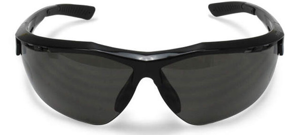 Radians Thraxus Safety Glasses with Smoke IQUITY Anti-Fog Lens - Front View