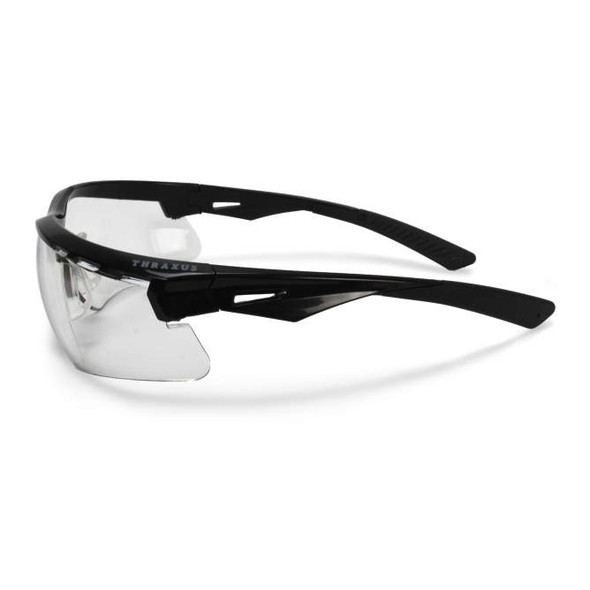 Radians Thraxus Safety Glasses with Clear Lens TXC1-10ID Side View