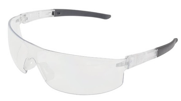 Encon Veratti Salvo Safety Glasses with Clear/Gray Frame and Clear Lens