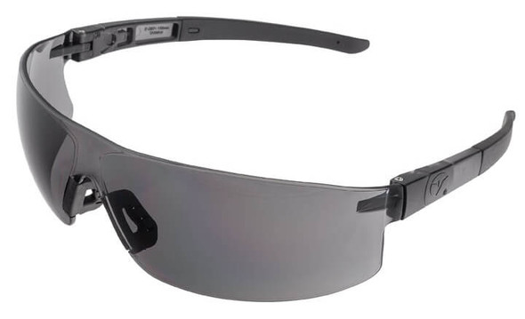 Encon Veratti Salvo Safety Glasses with Gray Frame and Gray Lens