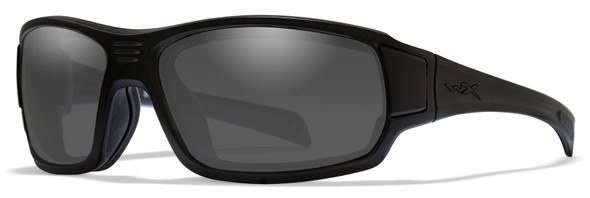 Wiley X Breach Safety Sunglasses with Matte Black Frame and Smoke Grey Lens