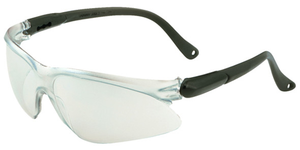 KleenGuard Visio Safety Glasses with Black Temple and Indoor/Outdoor Lens 14476