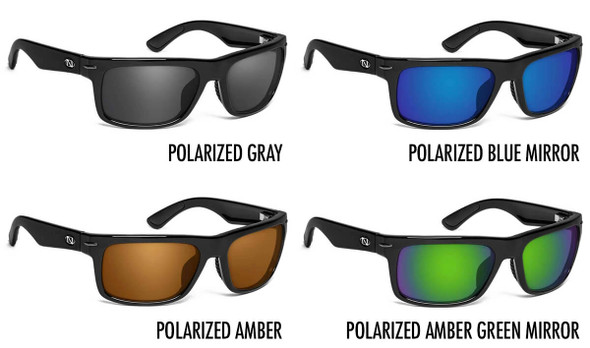 ONOS Zoar Polarized Bifocal Sunglasses - 4 Lens Color Options