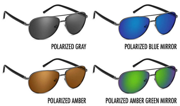 ONOS New Castle Polarized Bifocal Sunglasses - 4 Lens Color Options
