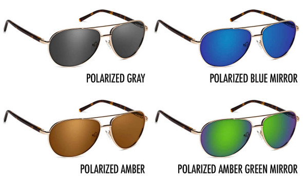 ONOS Superior Polarized Bifocal Sunglasses - 4 Lens Color Options
