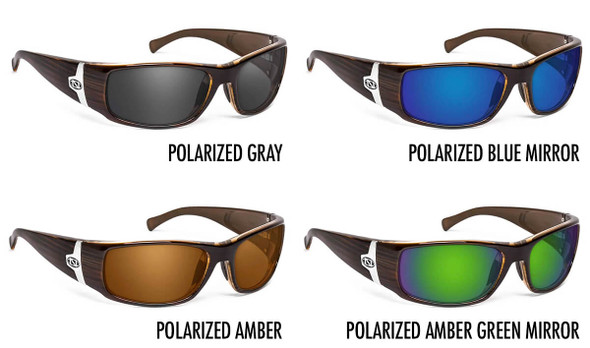 ONOS Ripia Polarized Bifocal Sunglasses - 4 Lens Color Options
