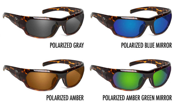 ONOS Nolin Polarized Bifocal Sunglasses - 4 Lens Color Options
