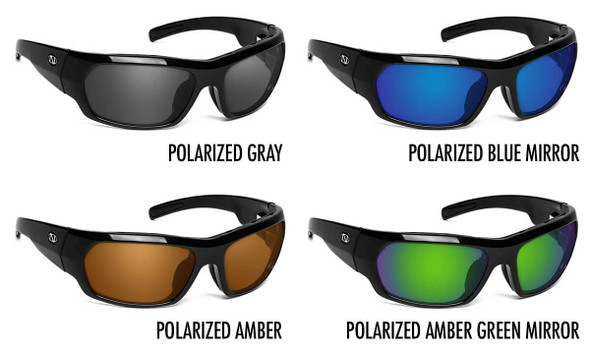 ONOS Nolin 2 Polarized Bifocal Sunglasses - 4 Lens Color Options
