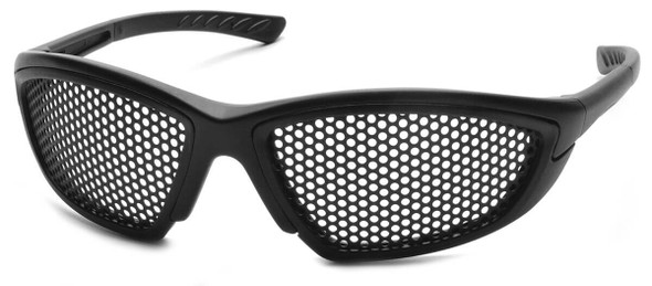 Pyramex Trifecta Safety Glasses with Punched-Steel Lens SB76WMD
