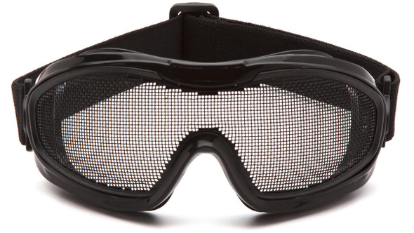 Pyramex G9WMG Safety Goggles with Wire-Mesh Lens - Front View